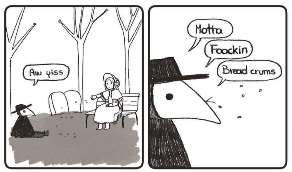 (° )> bread crumbs - meme