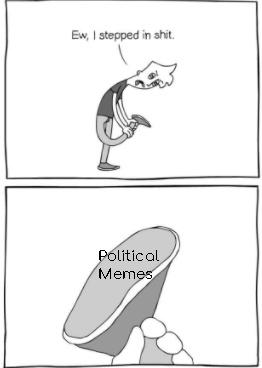 Fuck politics. - meme
