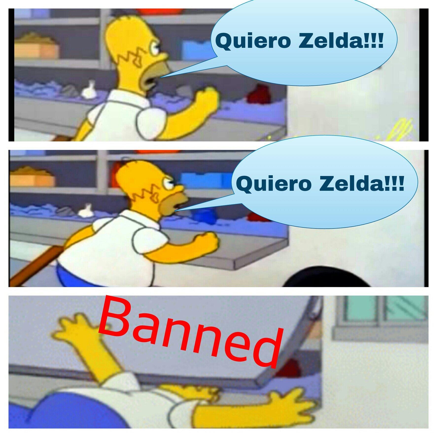 Queremos Zelda - meme