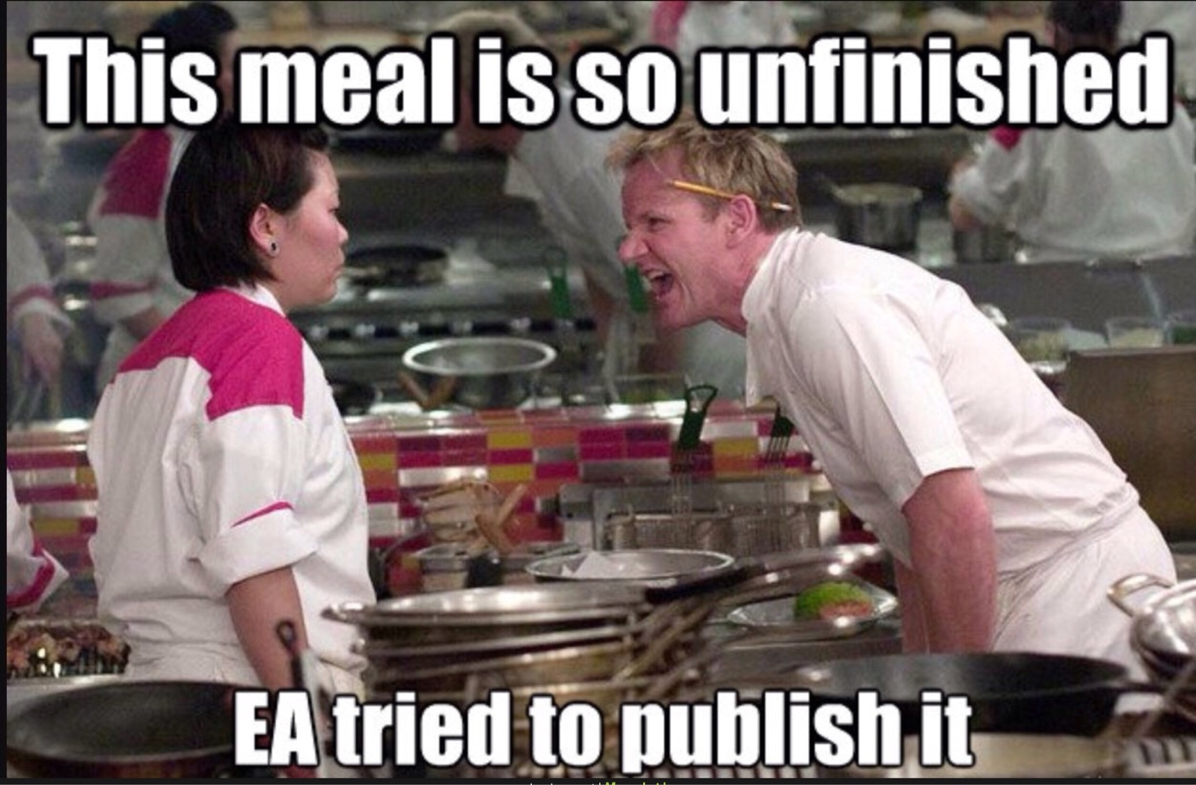 What is you least favorite EA Game? - meme