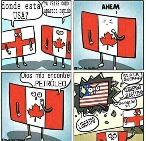 Buscando a USA - meme