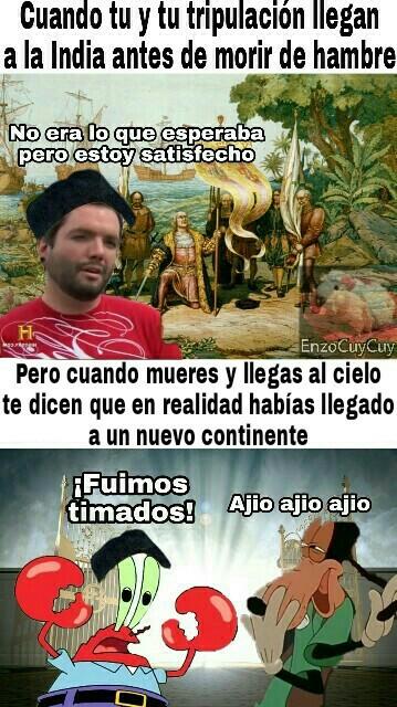 Cristobal Colón - meme