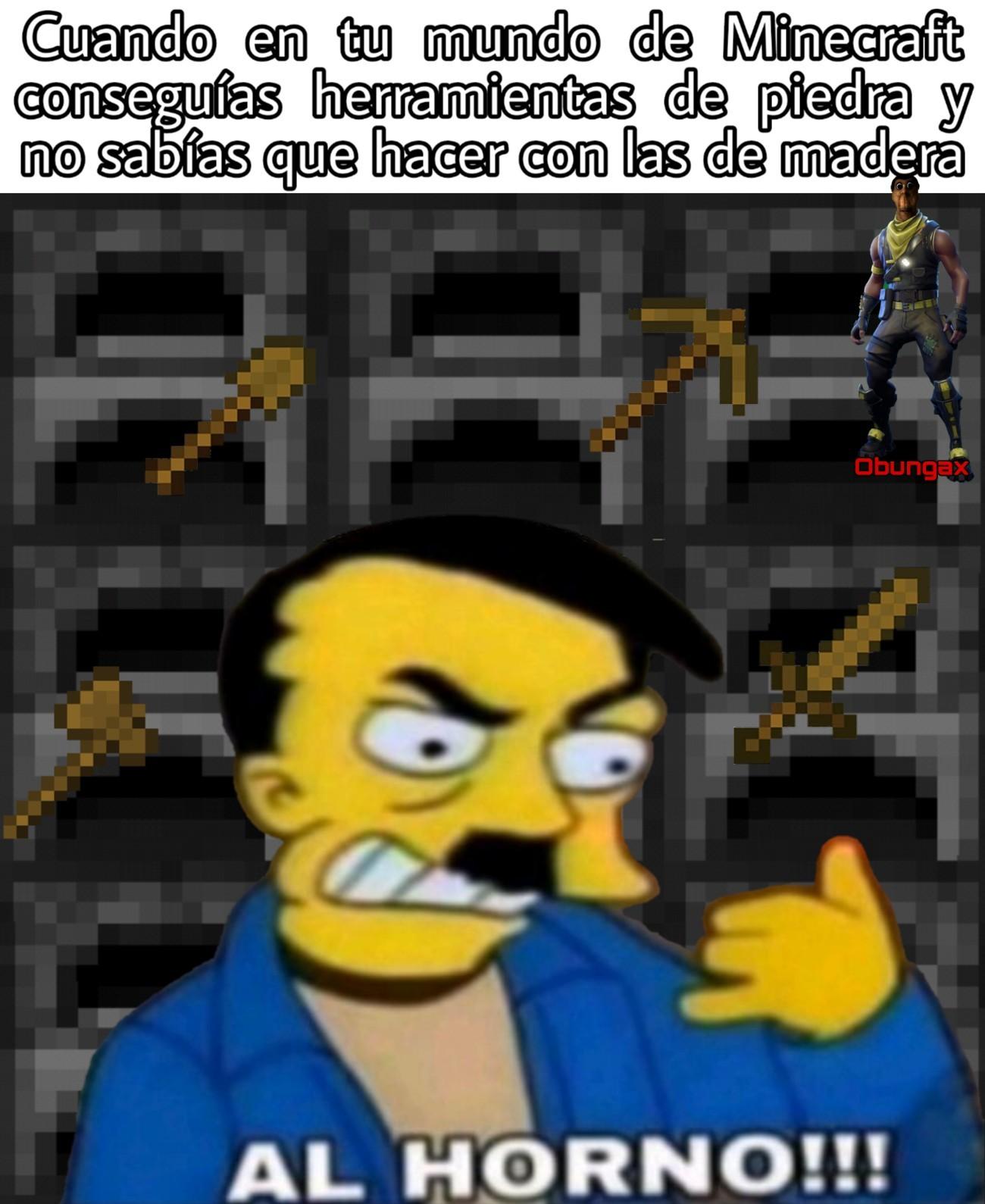 Más memes de Minecraft