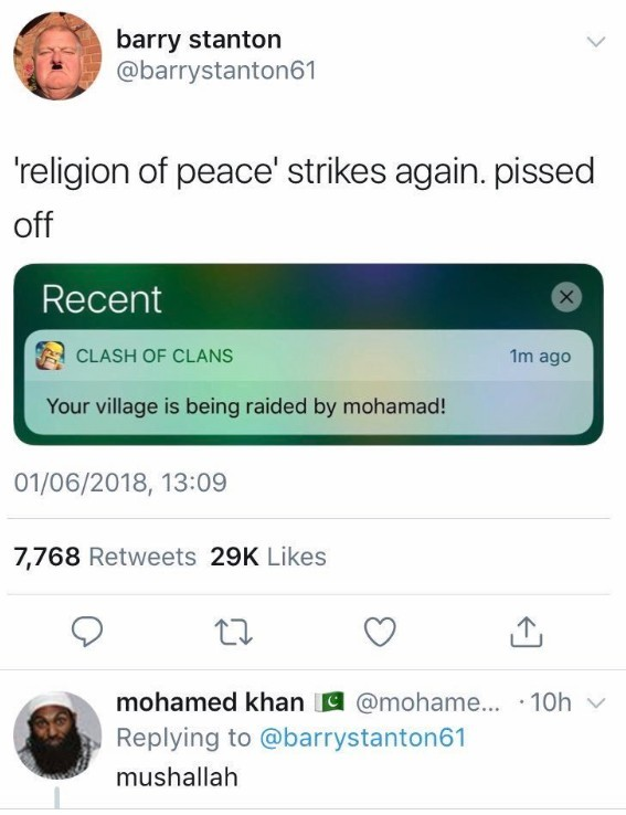 Muslims at it again - meme