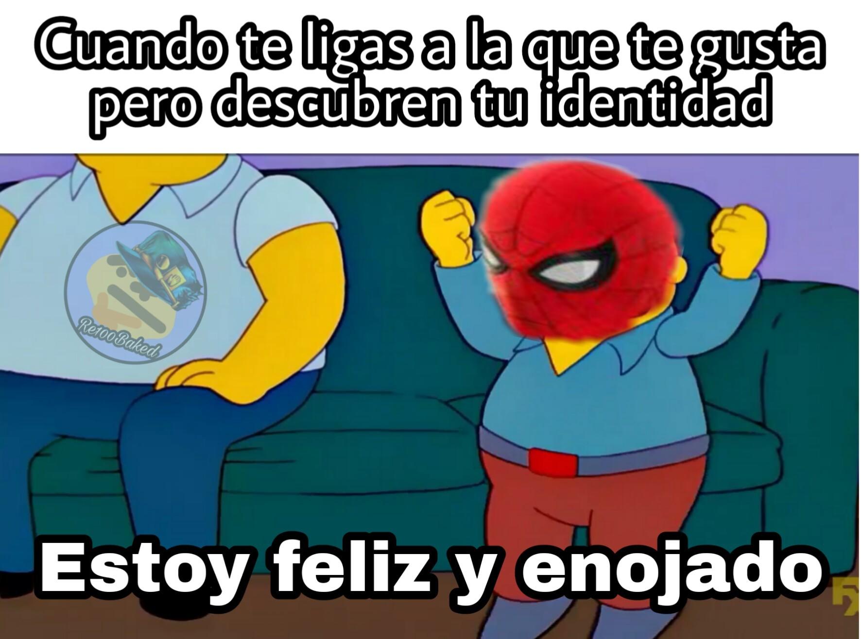 Spiderman: Lejos de casa - meme
