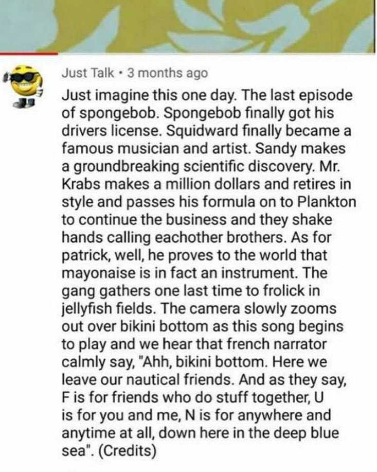 SpongeBob Senpwai uWu - meme