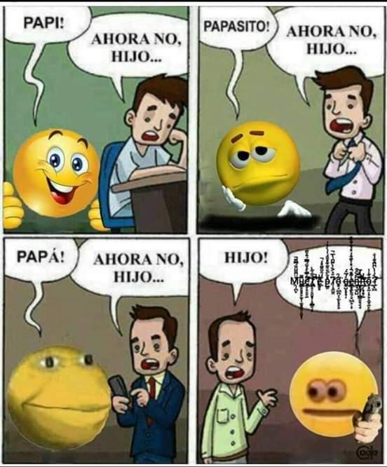 Papá :( - meme
