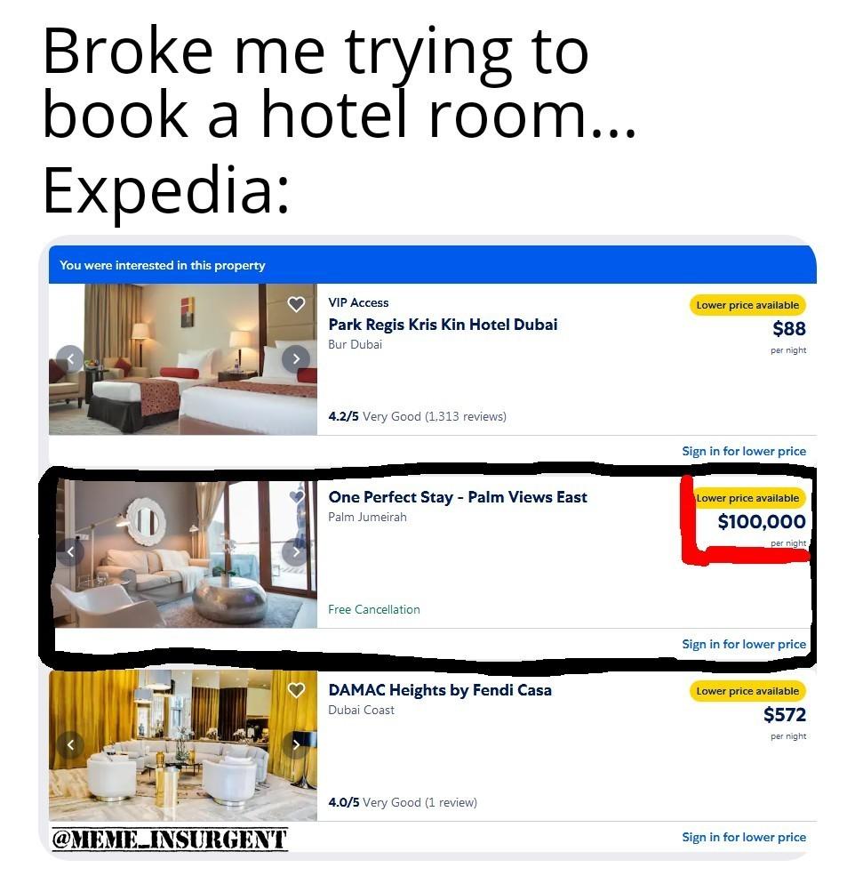 Hotel Trouble! - meme