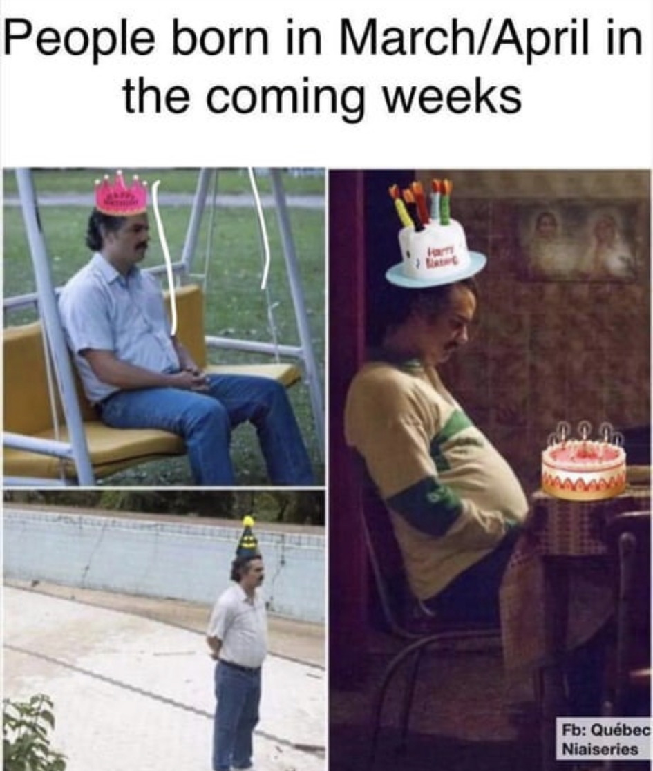 Birthdays - meme