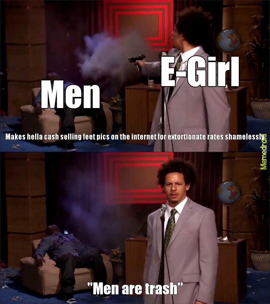 Men are trash doe huh - meme