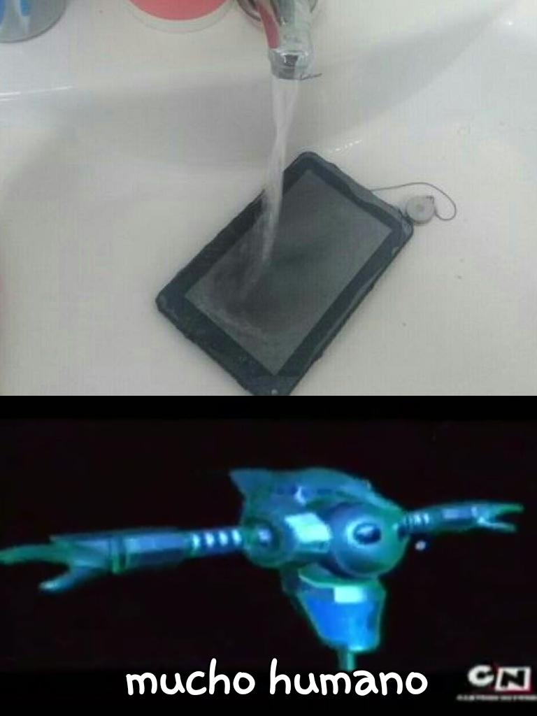 Ninguna tablet fue dañada en la grabacion - meme