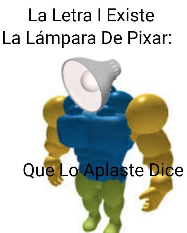 La Lámpara De Pixar - meme
