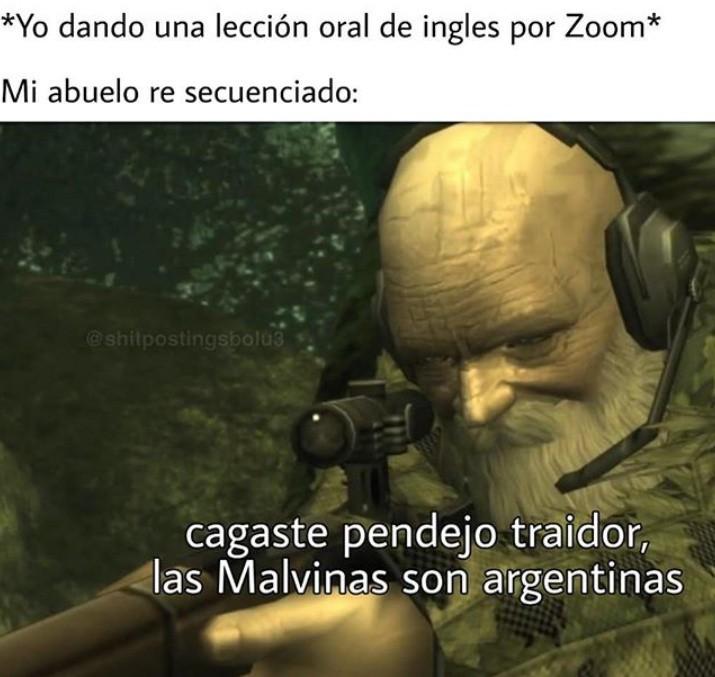 HAY QUE RECUPERAR LAS MALVINAS CARAJO - meme