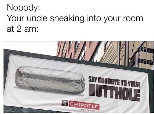 Lock your door - meme