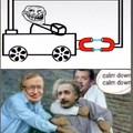 Einstein en sueur