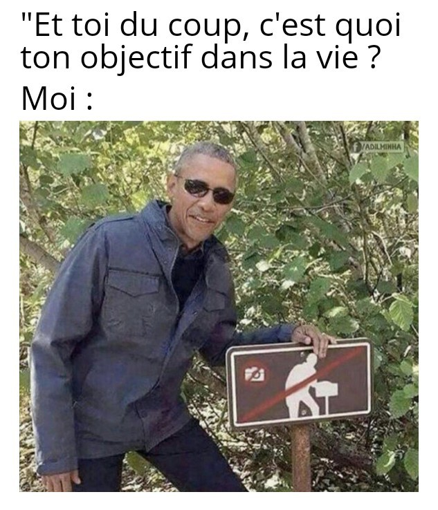 Obama out - meme