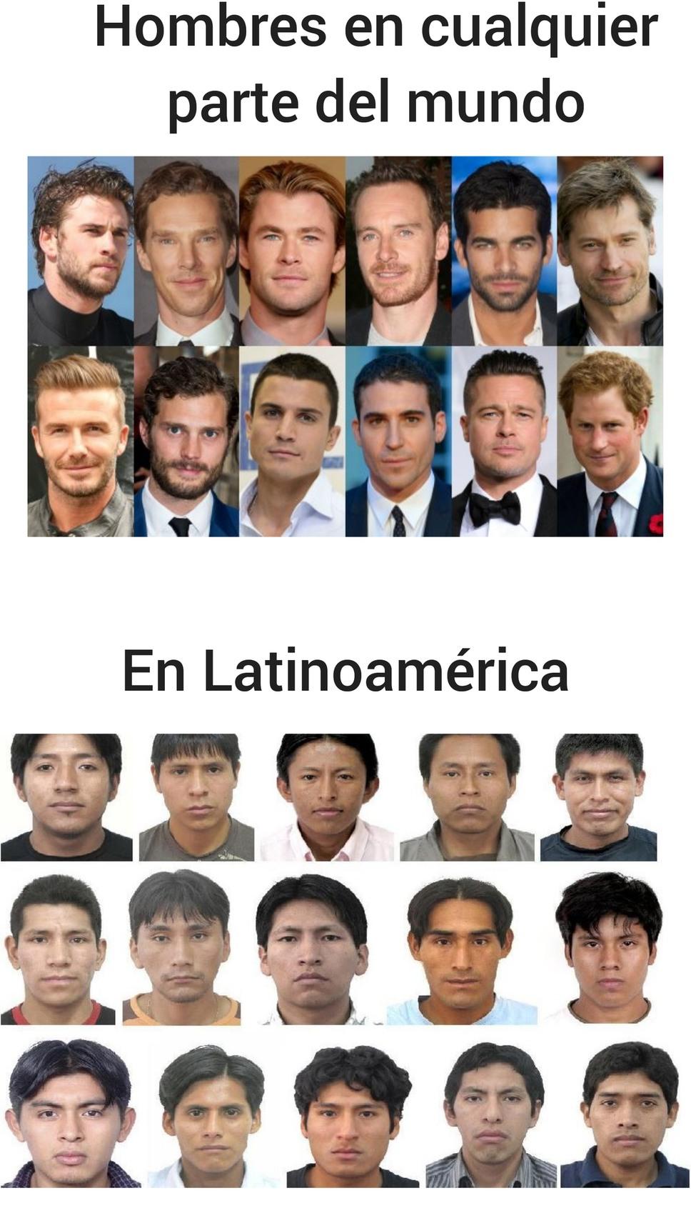 No me maten, yo también soy de Latinoamérica - meme