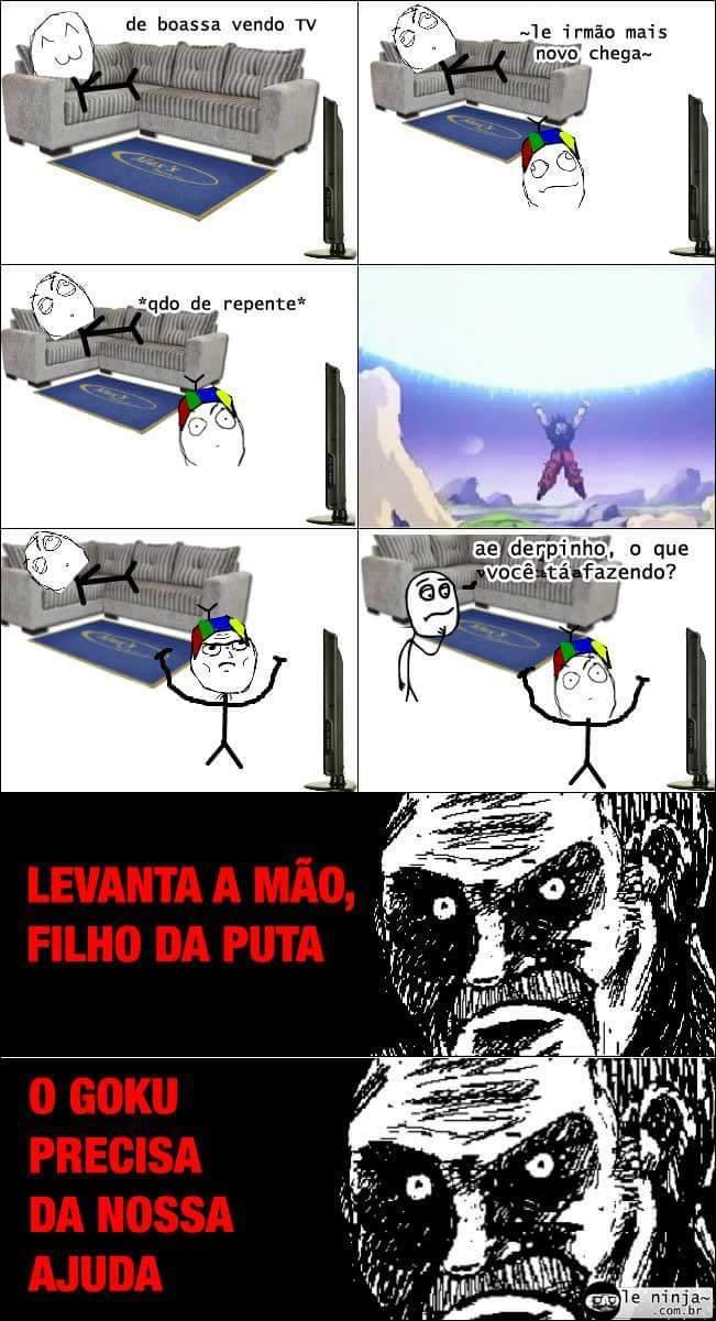 Força Goku - meme