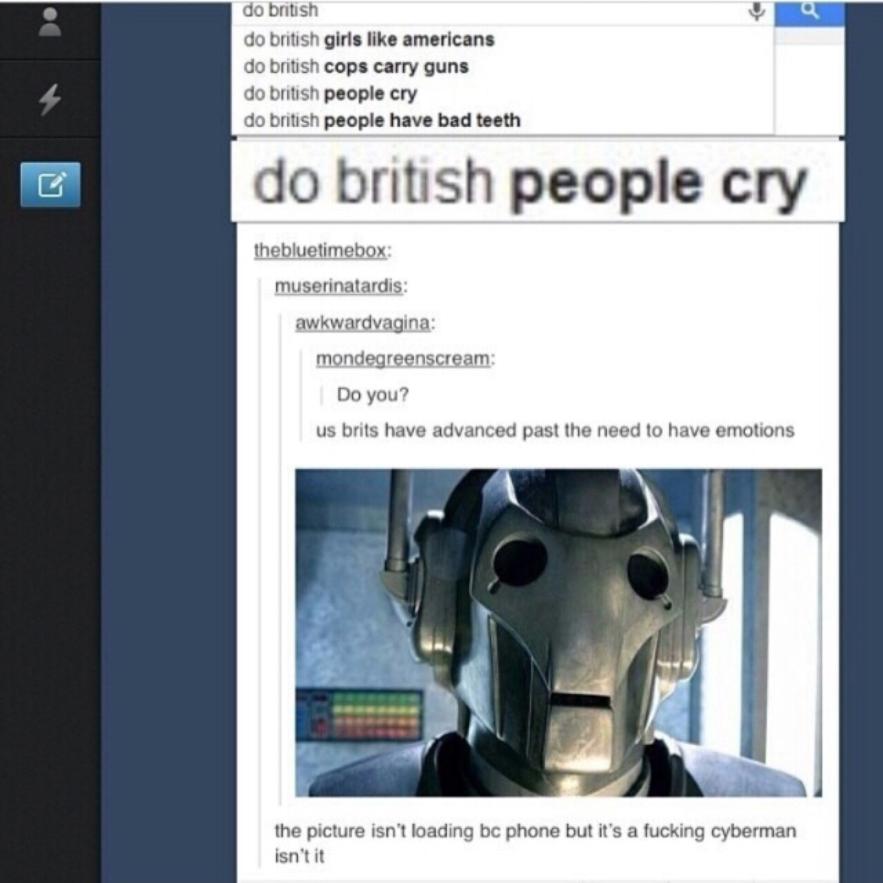 we are cybermen - meme