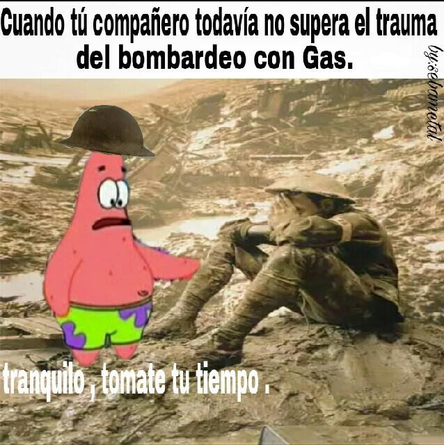 Pobre hombre... - meme