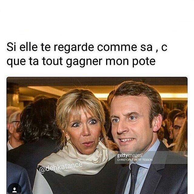 Brigitte Macron - meme