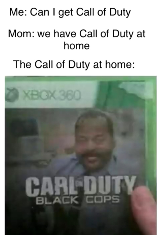 Carl on duty - meme