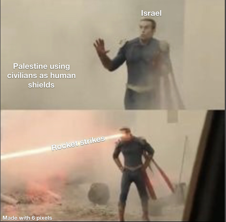 Homelander chad - meme