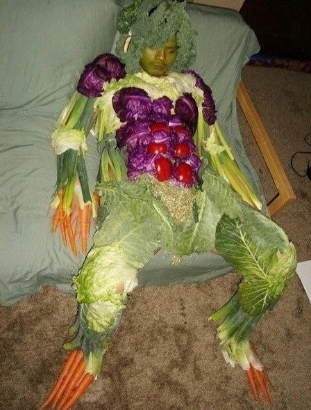 Vegano nivel 1000: es lo que come - meme
