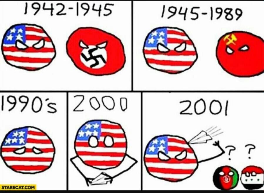 Pauvre amerique - meme