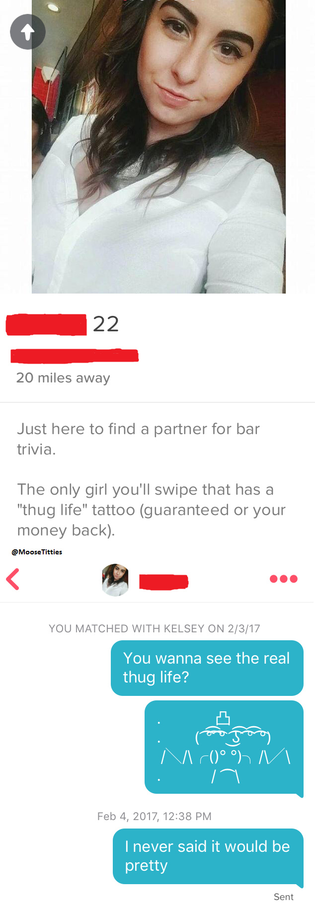How to pick up girls on tinder 1101 - meme