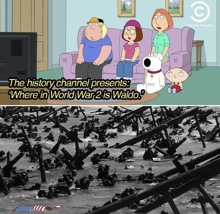 Where's Waldo - meme