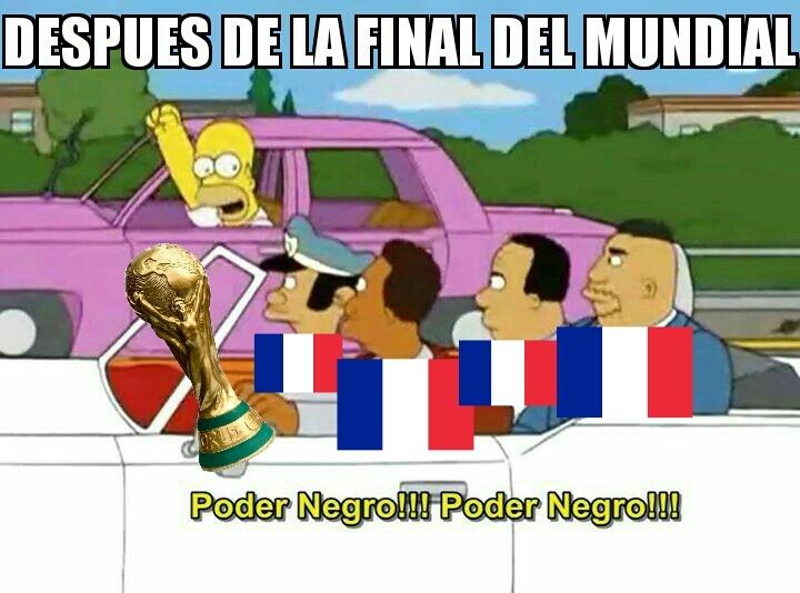 Final del Mundial - meme