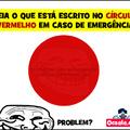 Não olhe para o circulo vermelho