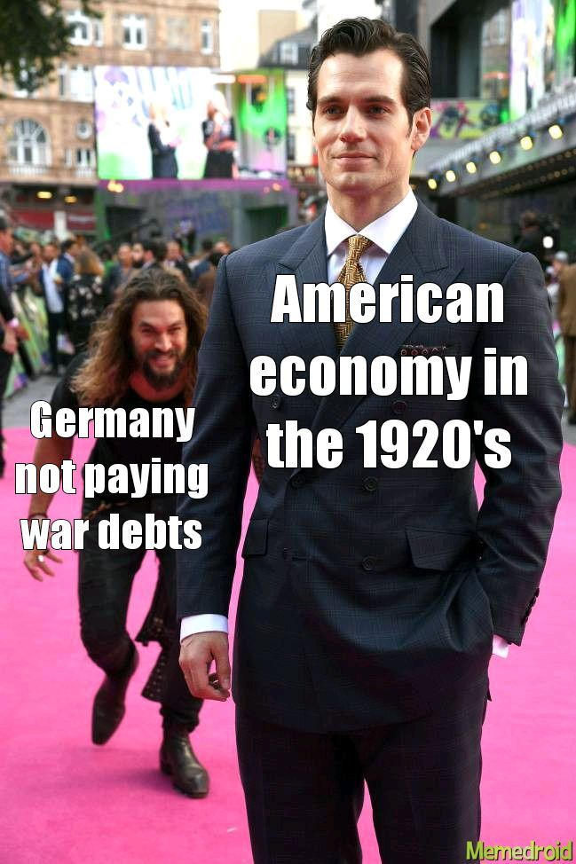 The great depression in a nutshell - meme