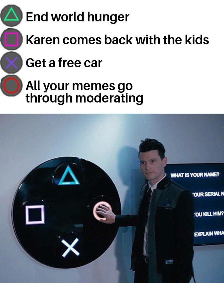 Pls let this through - meme