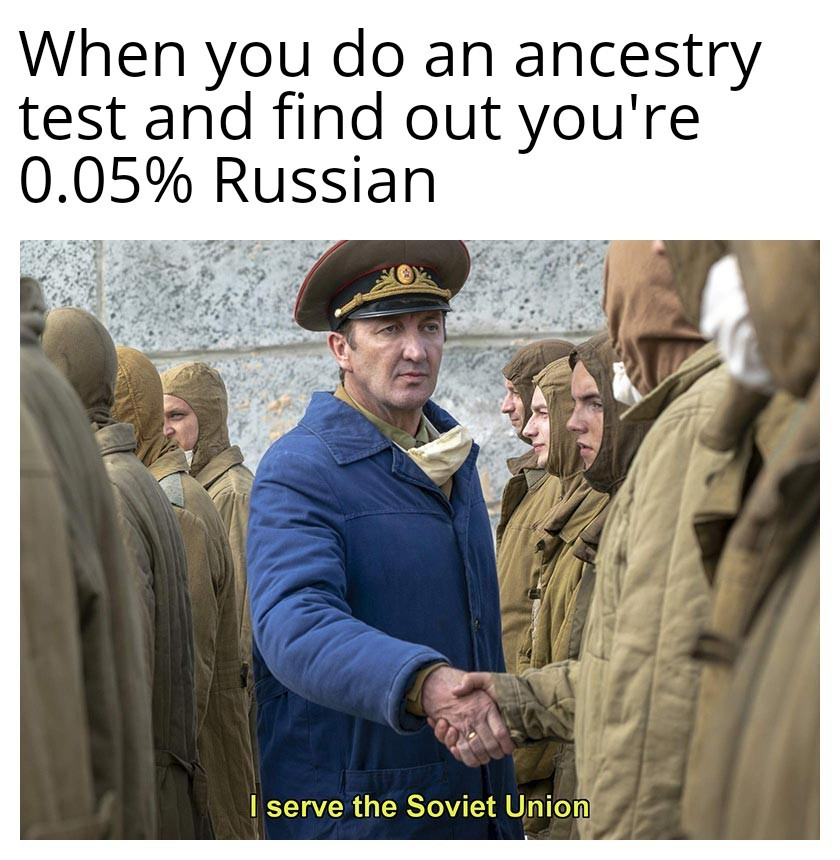 Chernobyl was a great fucking series - meme