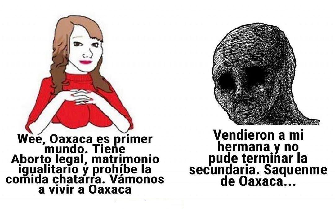 Saquenme de Oaxaca - meme
