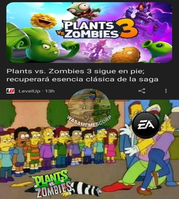 DEJALO! YA ESTA MUERTO! (patrocinado por Electronic Arts) - meme