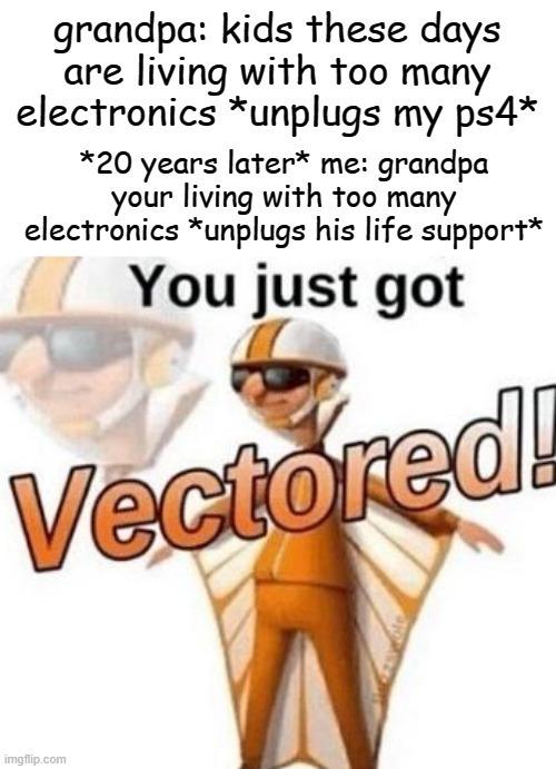 Vector - meme