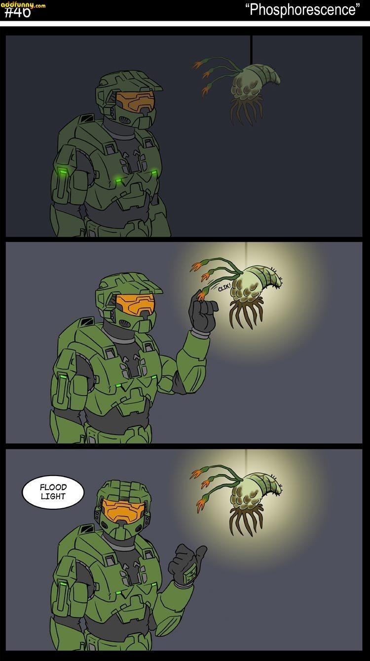 The Flood: Because the Lore of Halo wasn't creepy enough. - meme