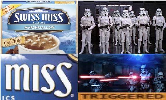 pew pew *miss miss* - meme