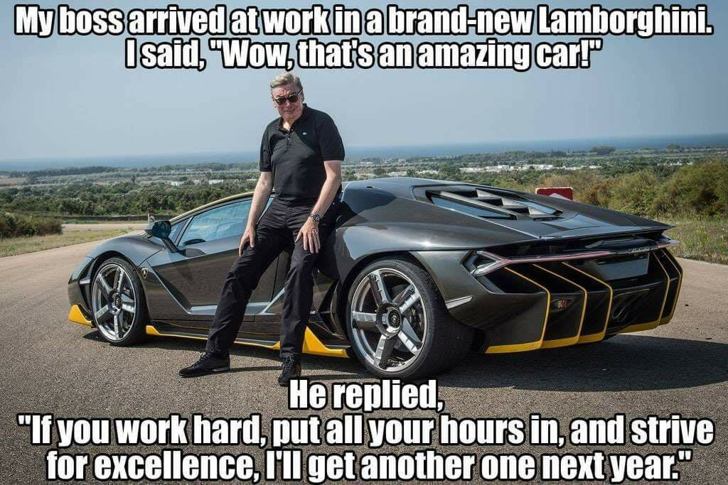 Work for yourself - meme