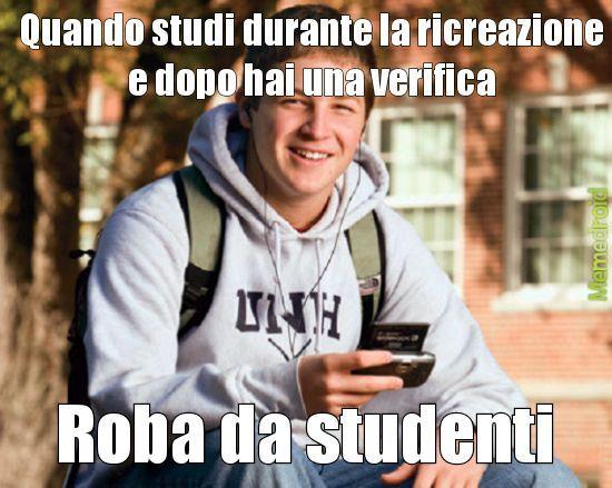La scuola - meme