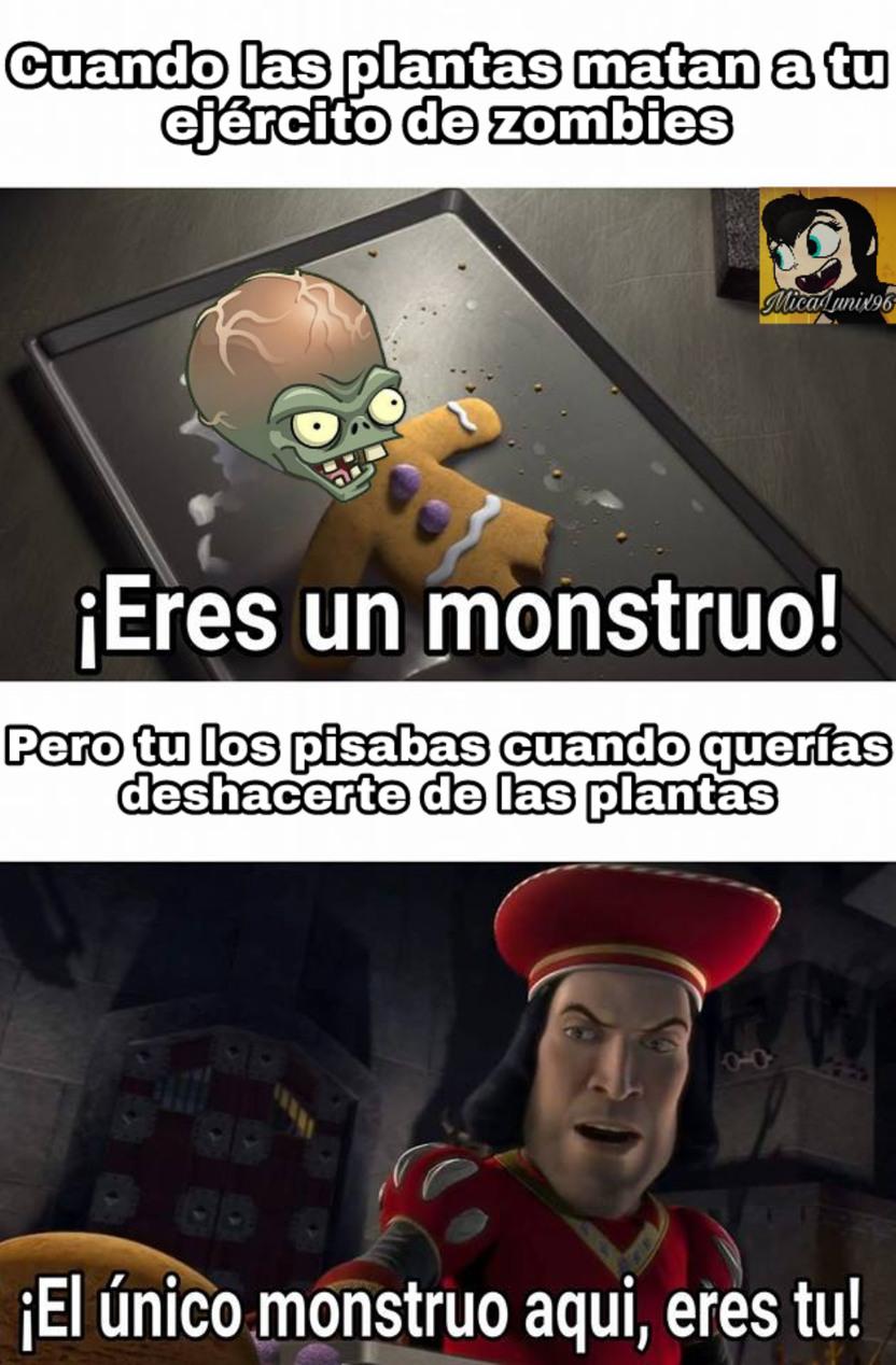 Pobres zombies - meme