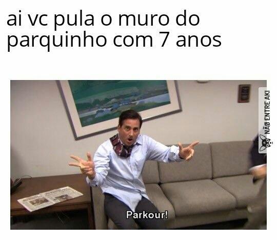 Parkú - meme