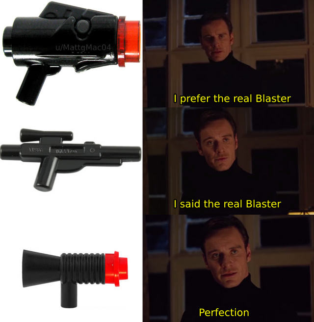 The real blaster - meme