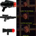 The real blaster