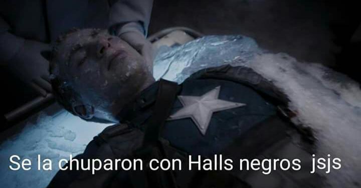 Halls negro - meme