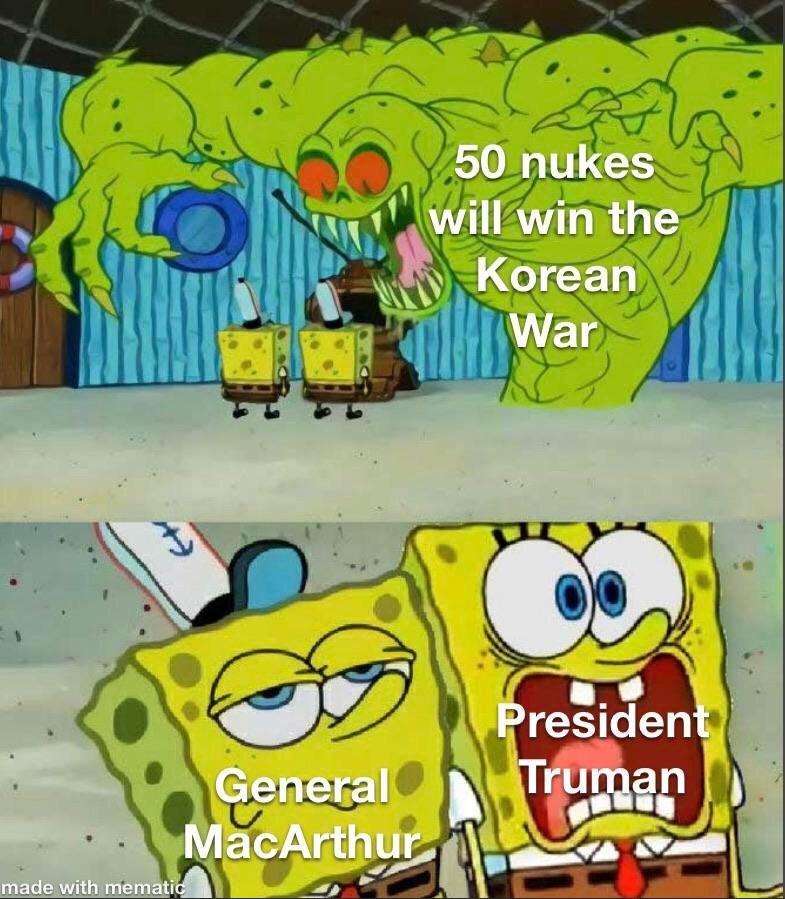 Tactical nukes - meme