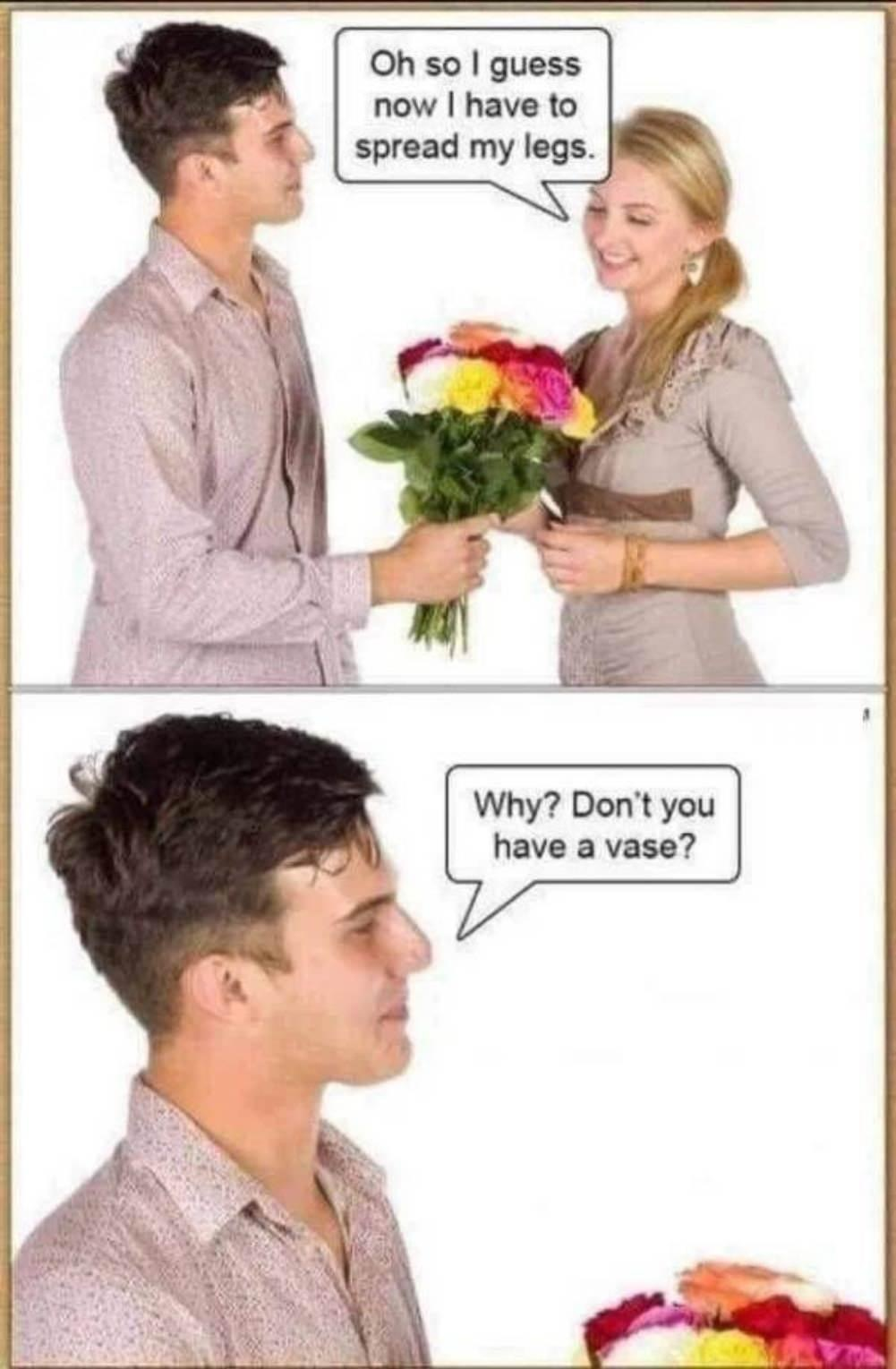 "Well, some women still call it her ""flower"" - meme"